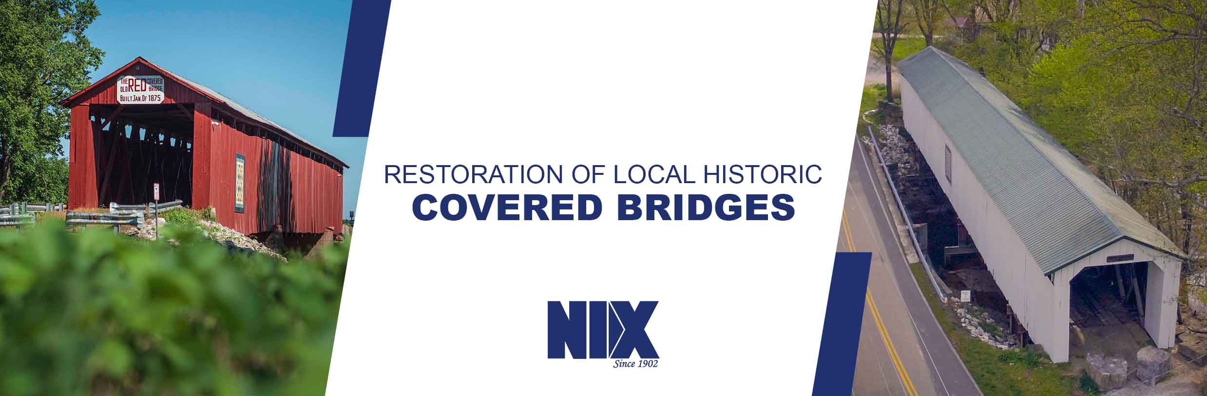Restoration of Local Historic Covered Bridges